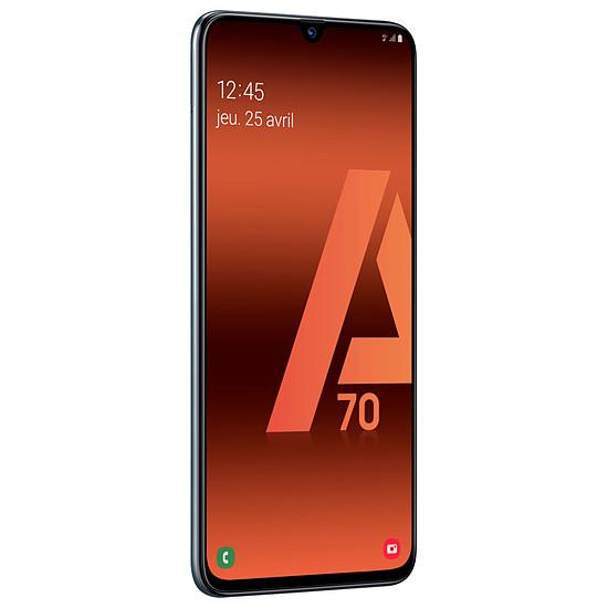 Smartphone et téléphone mobile Samsung Galaxy A70 (noir) - 128 Go - 6 Go - Autre vue