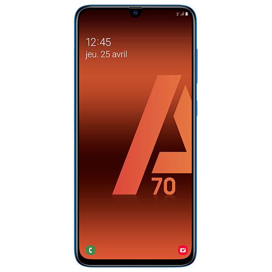 Smartphone et téléphone mobile Samsung Galaxy A70 (bleu) - 128 Go - 6 Go