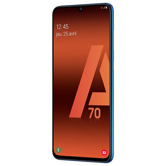 Smartphone et téléphone mobile Samsung Galaxy A70 (bleu) - 128 Go - 6 Go - Autre vue