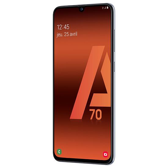 Smartphone et téléphone mobile Samsung Galaxy A70 (blanc) - 128 Go - 6 Go - Autre vue