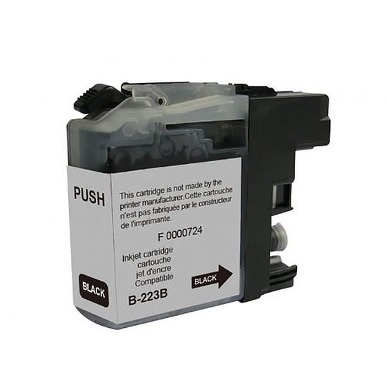 Cartouche imprimante Cartouche compatible Brother LC223BK - Noir
