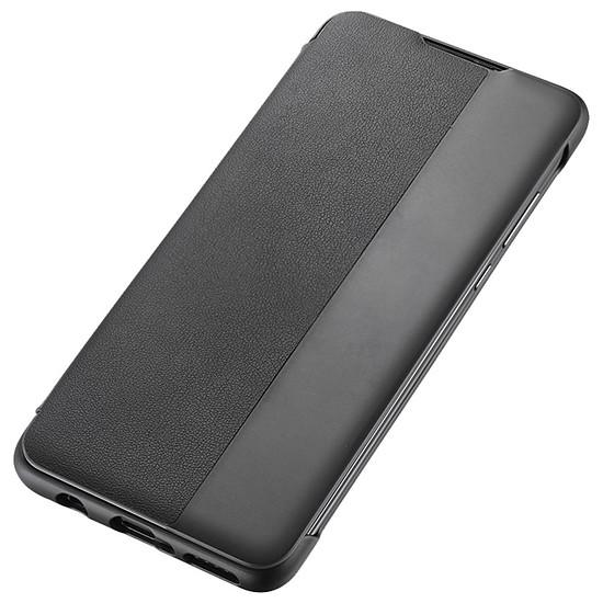 Coque et housse Huawei Etui Flip Smart View (noir) - Huawei P30 Lite