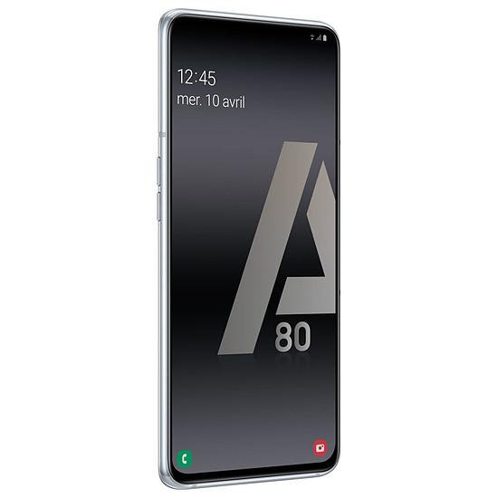 Smartphone et téléphone mobile Samsung Galaxy A80 (argent) - 128 Go - 8 Go