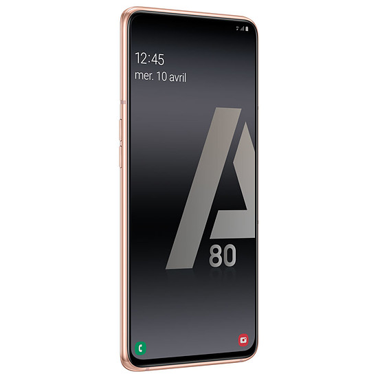 Smartphone et téléphone mobile Samsung Galaxy A80 (or) - 128 Go - 8 Go