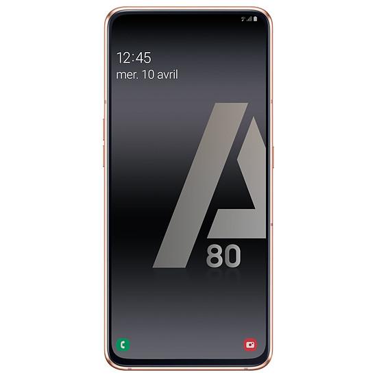Smartphone et téléphone mobile Samsung Galaxy A80 (or) - 128 Go - 8 Go - Autre vue
