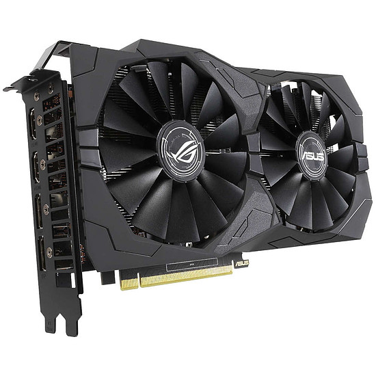 Carte graphique Asus GeForce GTX 1650 ROG STRIX A4G - Autre vue