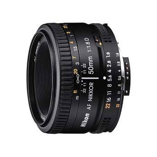 Objectif pour appareil photo Nikon AF 50mm f/1.8 D