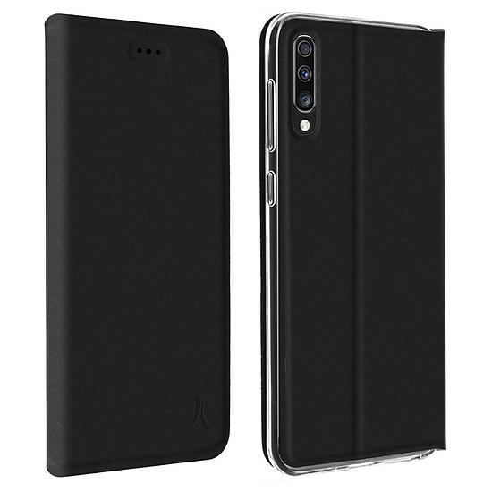 Coque et housse Akashi Etui Folio (noir) - Samsung Galaxy A70