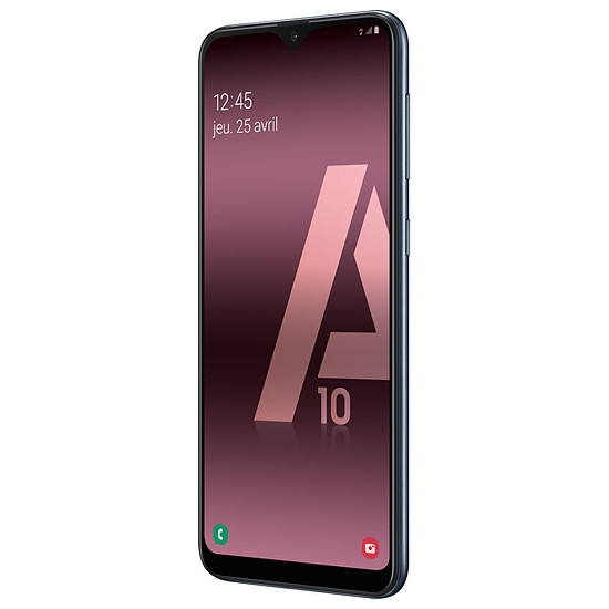 Smartphone et téléphone mobile Samsung Galaxy A10 (noir) - 32 Go - 2 Go - Autre vue