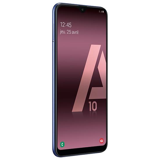 Smartphone et téléphone mobile Samsung Galaxy A10 (bleu) - 32 Go - 2 Go - Autre vue