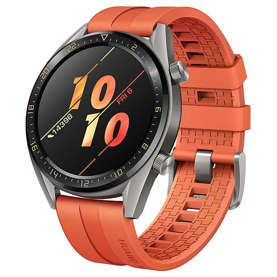 Montre connectée Huawei Watch GT Active Edition (gris- orange) - GPS - 46 mm - Autre vue