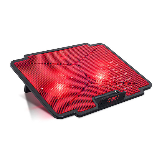 Refroidisseur PC portable Spirit of Gamer Airblade 100 (Rouge)