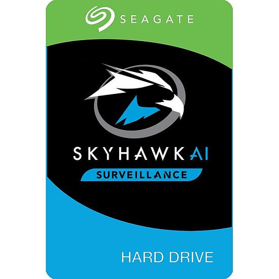 Disque dur interne Seagate SkyHawk AI - 8 To - 256 Mo