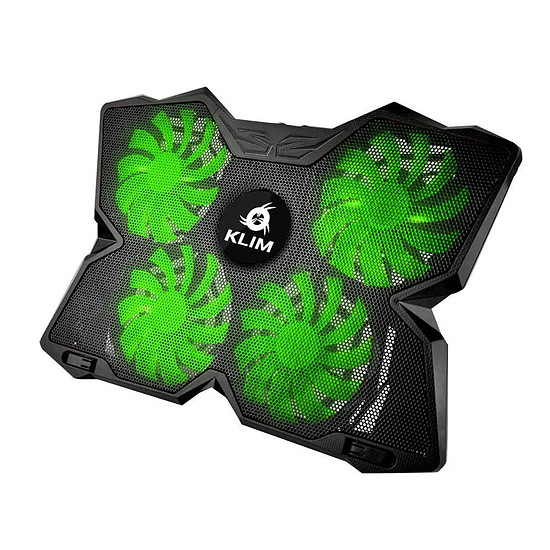 Refroidisseur PC portable KLIM Wind Vert