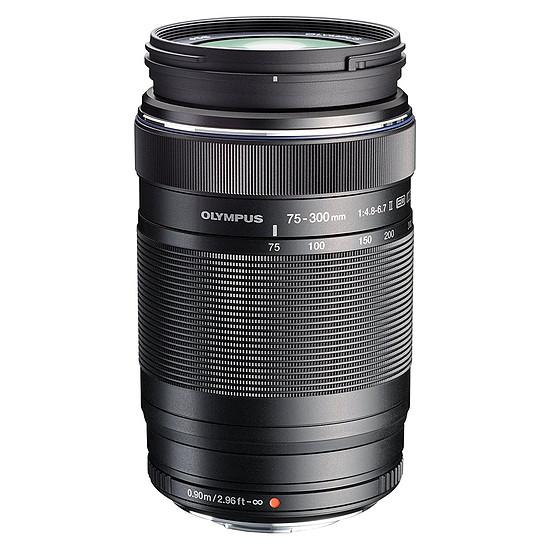 Objectif pour appareil photo Olympus M.ZUIKO DIGITAL ED 75-300mm 1:4.8-6.7 II Noir