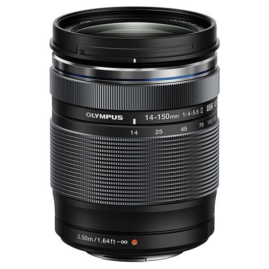 Objectif pour appareil photo Olympus M.ZUIKO DIGITAL ED 14-150mm 1:4.0-5.6 II Noir