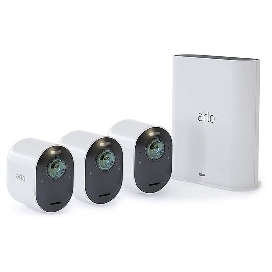 Caméra IP Arlo Ultra - VMS5340 (Pack de 3)