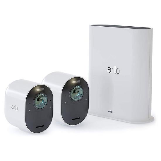 Caméra IP Arlo Ultra - VMS5240 (Pack de 2)