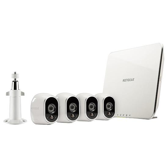 Caméra IP Arlo Starter Pack - VMS3430 (Pack de 4)
