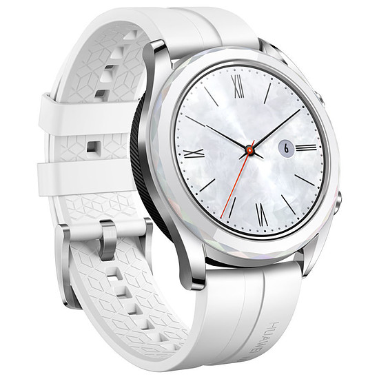 Montre connectée Huawei Watch GT Elegant Edition (blanc - blanc) - GPS - 42 mm