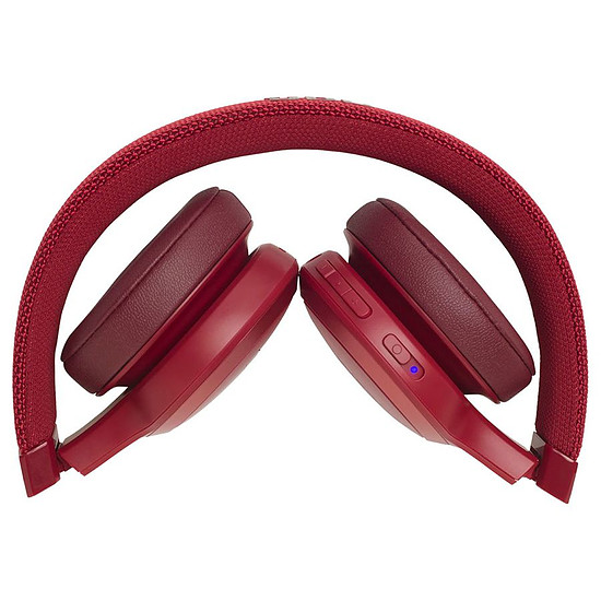 casque audio jbl supra-auriculaire live400bt rouge