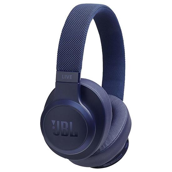 Casque Audio JBL LIVE 500 BT Bleu - Casque sans fil