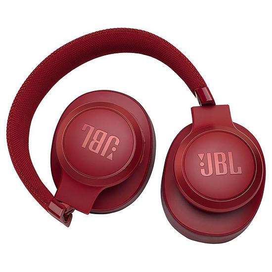 Casque Audio JBL LIVE 500 BT Rouge - Casque sans fil - Autre vue
