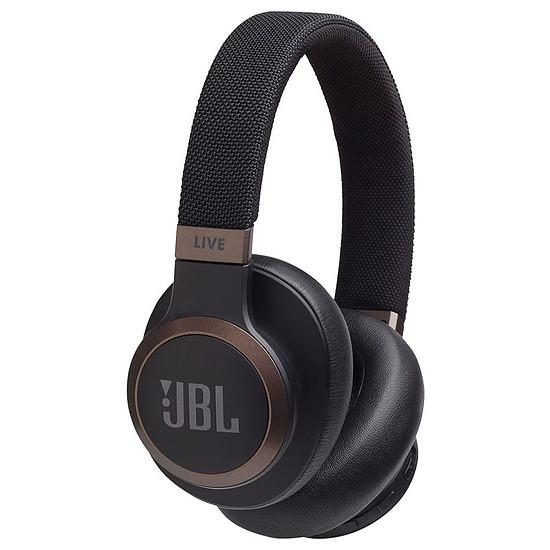 Casque Audio JBL LIVE 650 BT NC Noir - Casque sans fil