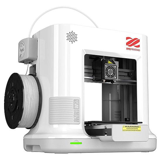 Imprimante 3D XYZprinting Da Vinci Mini Plus Blanche - Autre vue