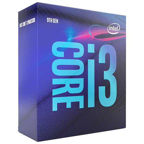 Processeur Intel Core i3 9100