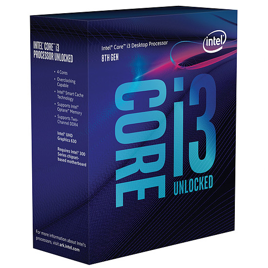 Processeur Intel Core i3 8350K