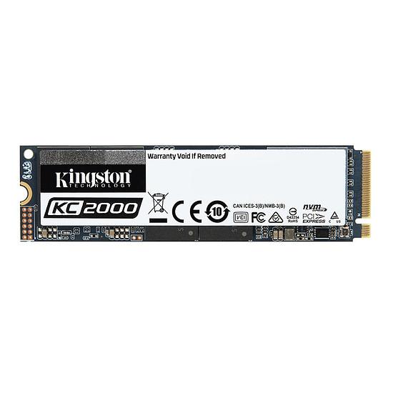 Disque SSD Kingston KC2000 - 500 Go
