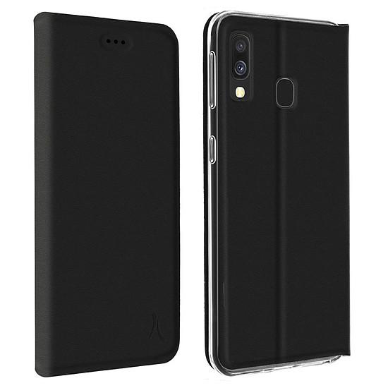 Coque et housse Akashi Etui Folio (noir) - Samsung Galaxy A20e