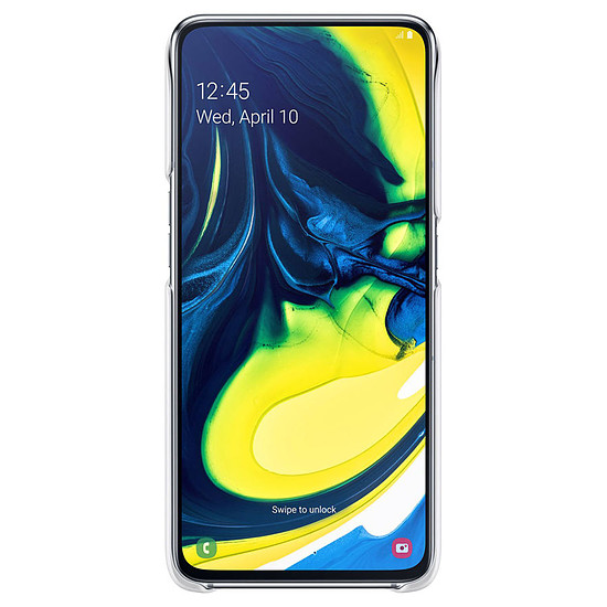 Coque et housse Samsung Coque Stand (blanc) - Samsung Galaxy A80