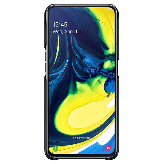 Coque et housse Samsung Coque Stand (noir) - Samsung Galaxy A80