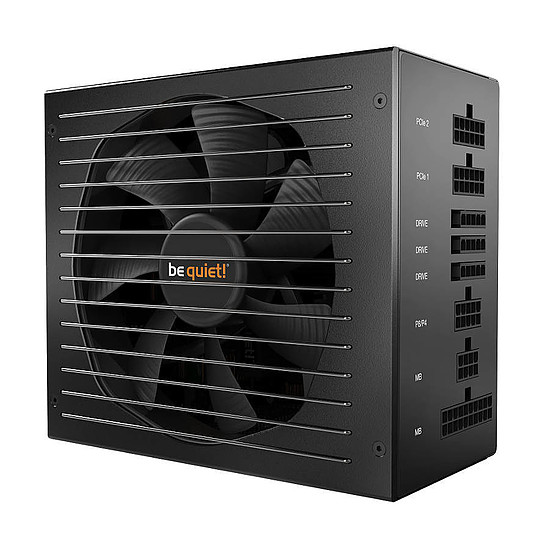 Boîtier PC Be Quiet Silent Base 601 TG - Black + Straight Power 11 650W - Autre vue