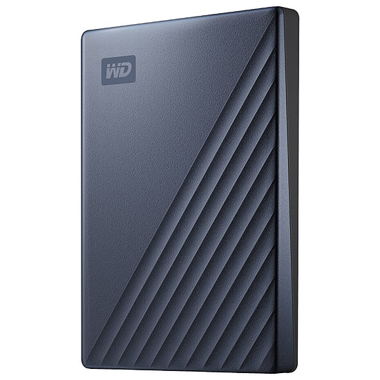 Disque dur externe Western Digital (WD) My Passport Ultra - 2 To (Bleu Noir)