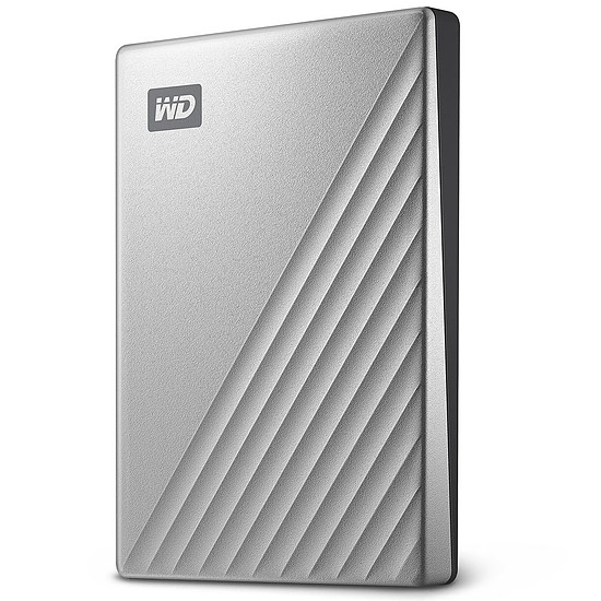 Disque dur externe Western Digital (WD) My Passport Ultra - 2 To (Silver)