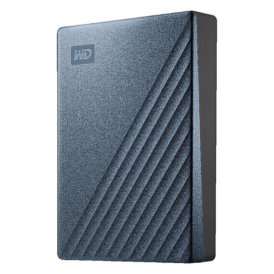 Disque dur externe Western Digital (WD) My Passport Ultra - 4 To (Bleu Noir)
