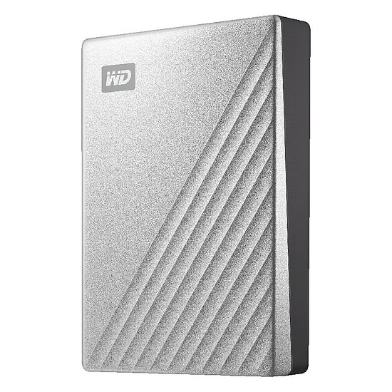 Disque dur externe Western Digital (WD) My Passport Ultra For Mac - 4 To (Gris)