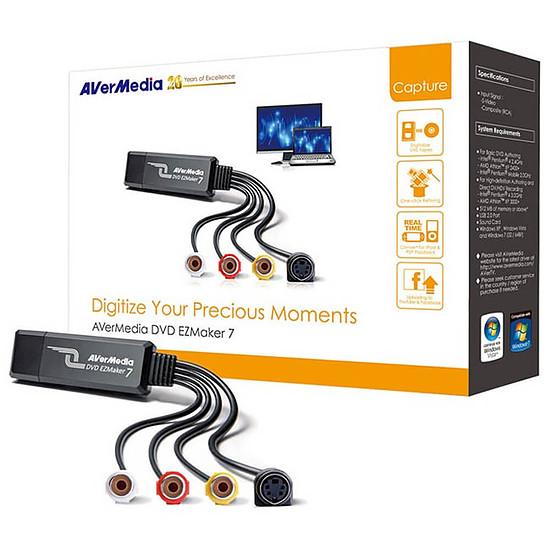 Montage et acquisition vidéo AVerMedia DVD EZMaker 7 - Autre vue