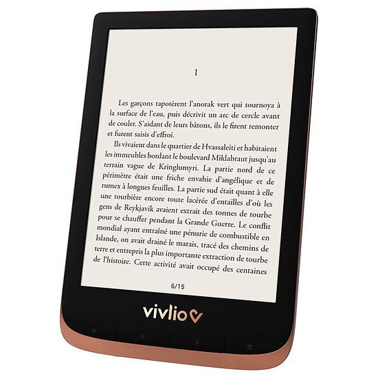 Liseuse numérique Vivlio Touch HD Plus (cuivre) - 16 Go - Autre vue