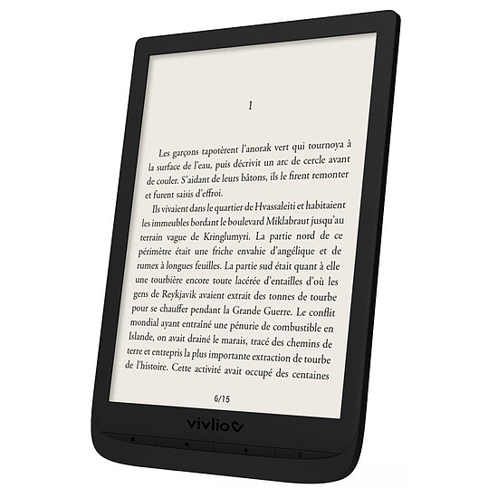 Liseuse numérique Vivlio InkPad 3 (noir) - 8 Go - Autre vue