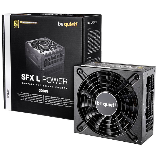 Alimentation PC Be Quiet SFX-L Power 500W - Autre vue