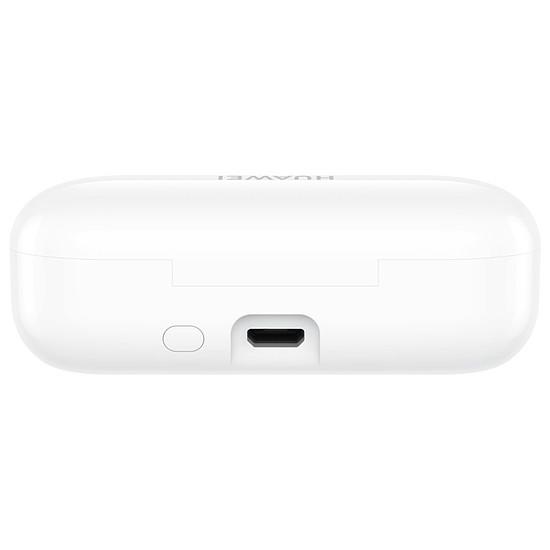 Casque Audio Huawei FreeBuds Lite (blanc) avec boitier de charge - Autre vue