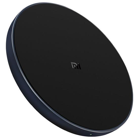 Chargeur Xiaomi Mi Chargeur sans fil rapide à induction Wireless Charging Pad Qi 10 W (noir)