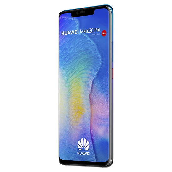 Smartphone et téléphone mobile Huawei Mate 20 Pro (twilight) - 128 Go - 6 Go + Huawei FreeBuds Offerts