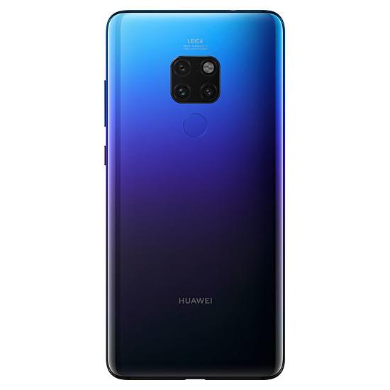 Smartphone et téléphone mobile Huawei Mate 20 (twilight) - 128 Go - 4 Go + Huawei FreeBuds Offerts - Autre vue