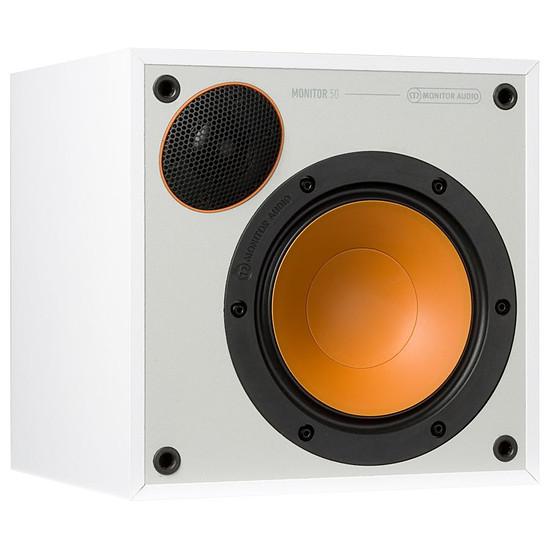 Enceintes HiFi / Home-Cinéma Monitor Audio Monitor 50 (la paire) - Blanc - Autre vue