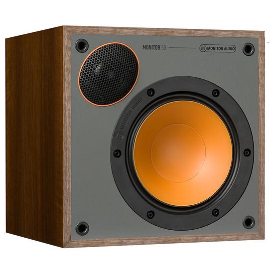 Enceintes HiFi / Home-Cinéma Monitor Audio Monitor 50 (la paire) - Noyer - Autre vue